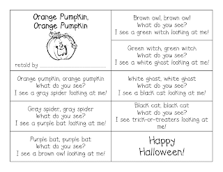 first grade a la carte orange pumpkin orange pumpkin here s one for your students to make they create their own little version of the book by sequencing the story then match the pictures or draw their own