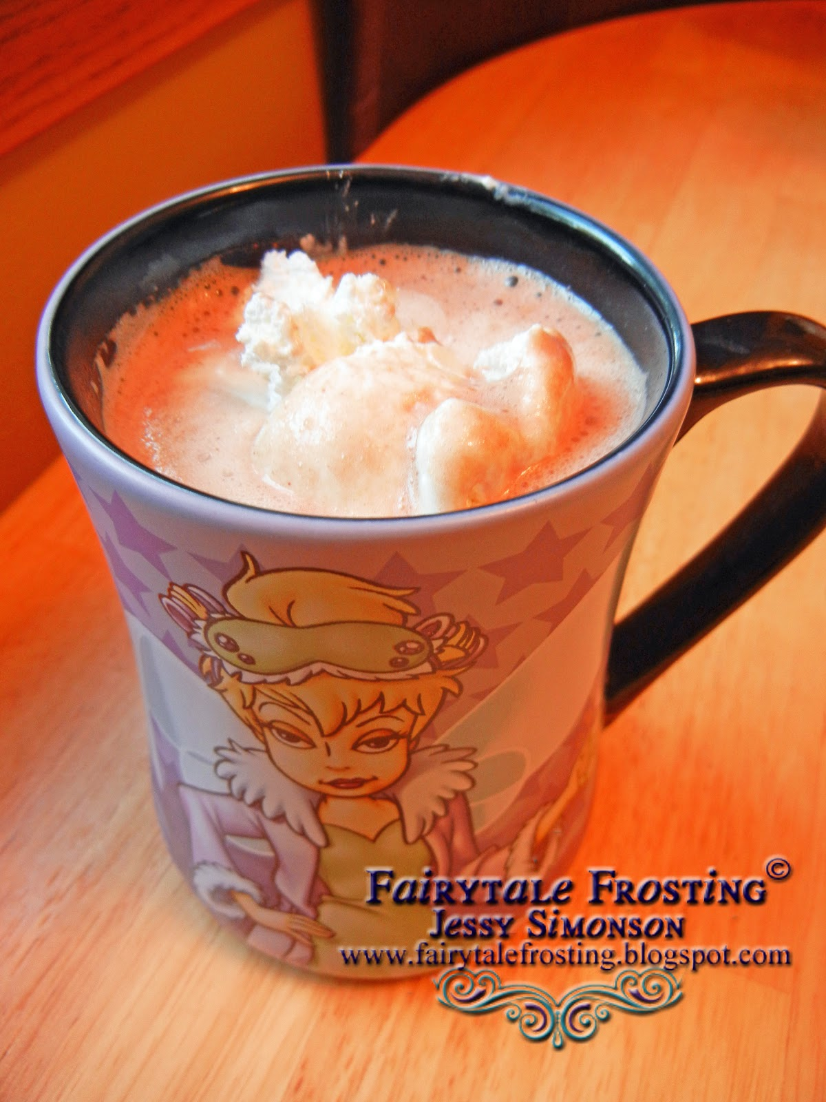 Fairytale Frosting: Pumpkin Pie Hot Chocolate