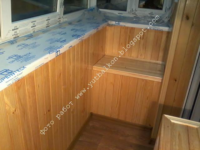 Тумбочка на балкон из вагонки своими руками