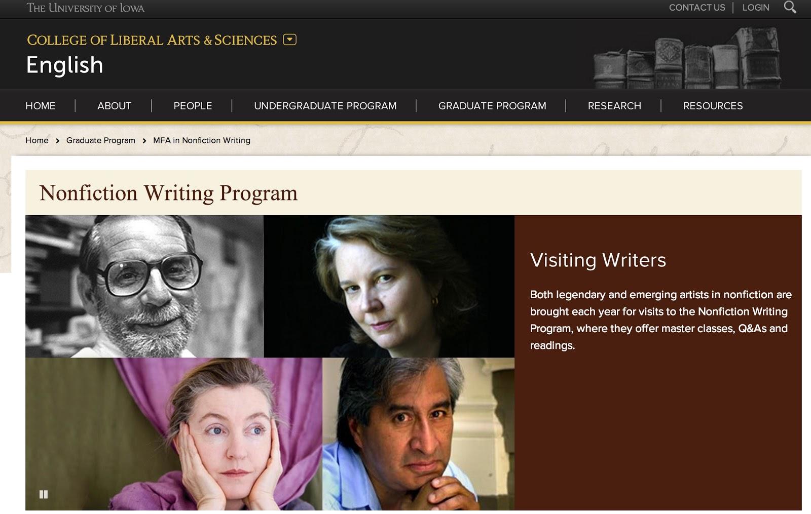 best creative writing undergraduate programs in us