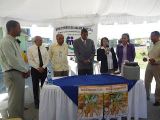 Ministerio de Salud realiza jornada de Vacunación Escolar en San Cristóbal