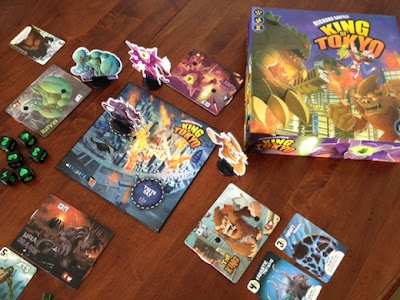 King of Tokyo game in play