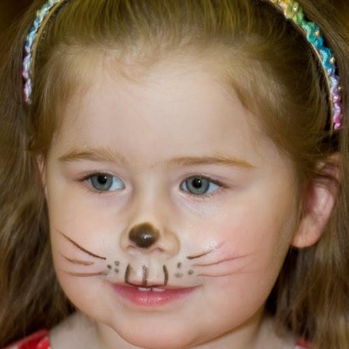 ألبومات صور منوعة البوم صور لاجمل رسم على وجه الاطفال بالالوان