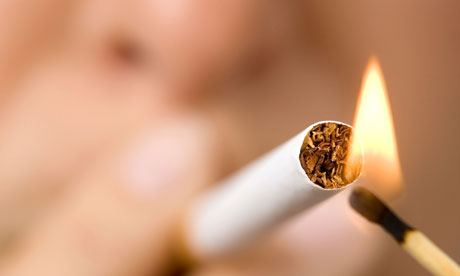 smoking can damage brain