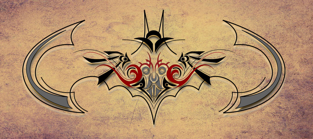 Batman Tribal Tattoo Designs Tattoo Designss Tattoo Me Now Chopper