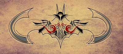 Batman Tribal Tattoo Designs