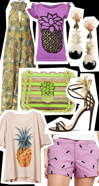 Get the look Pineapple fashion trend