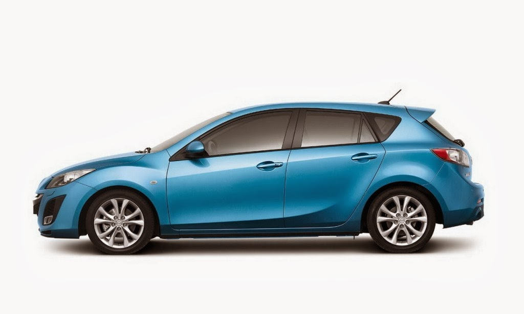 2014 mazda 3 sedan blue