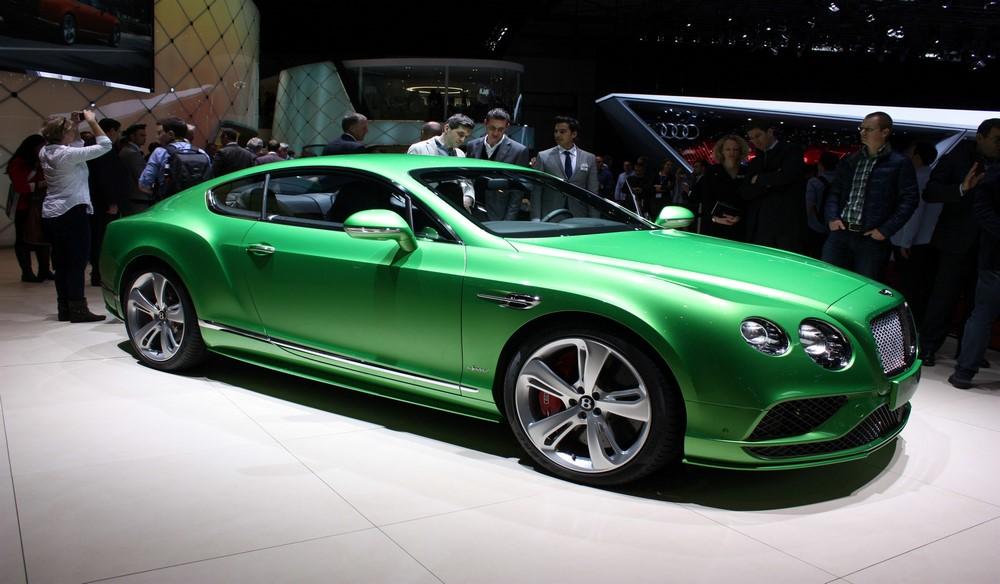 2016 Bentley Continental GT Resimleri
