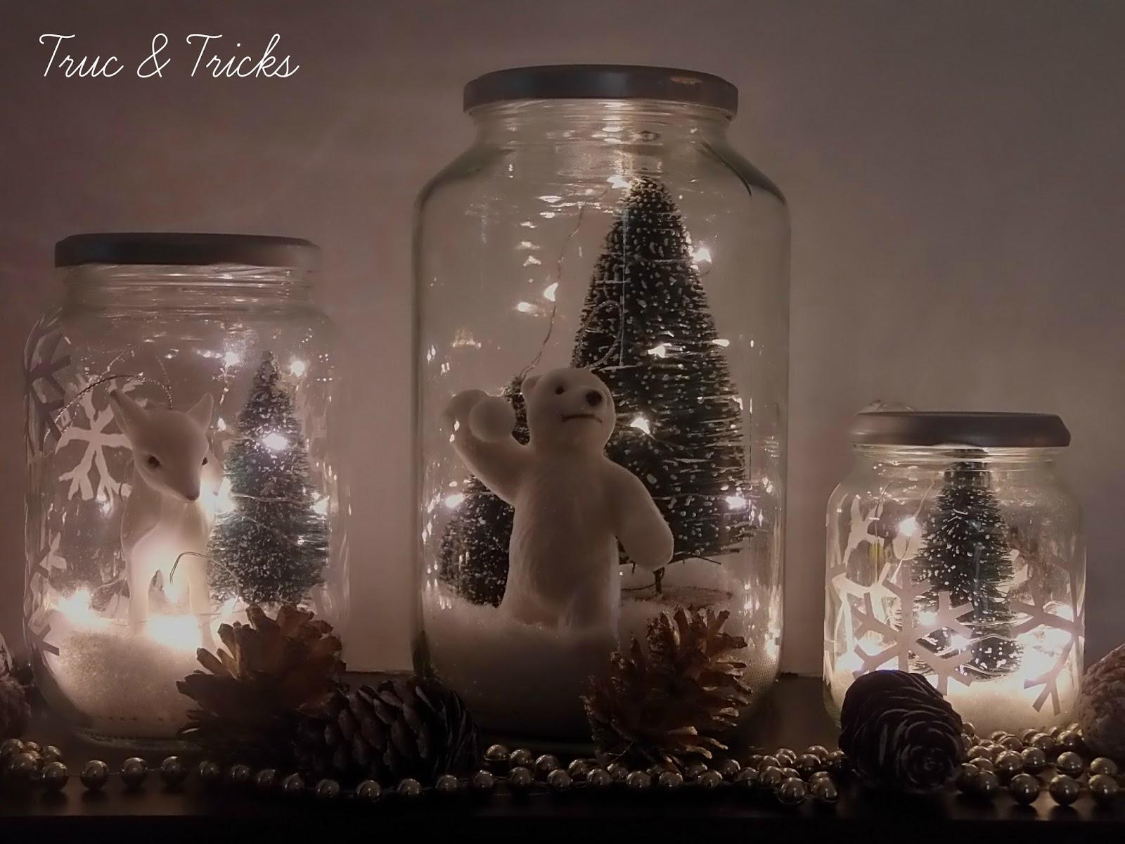 Top Déco de Noël DIY : Noël en bocal - Truc & Tricks PG01