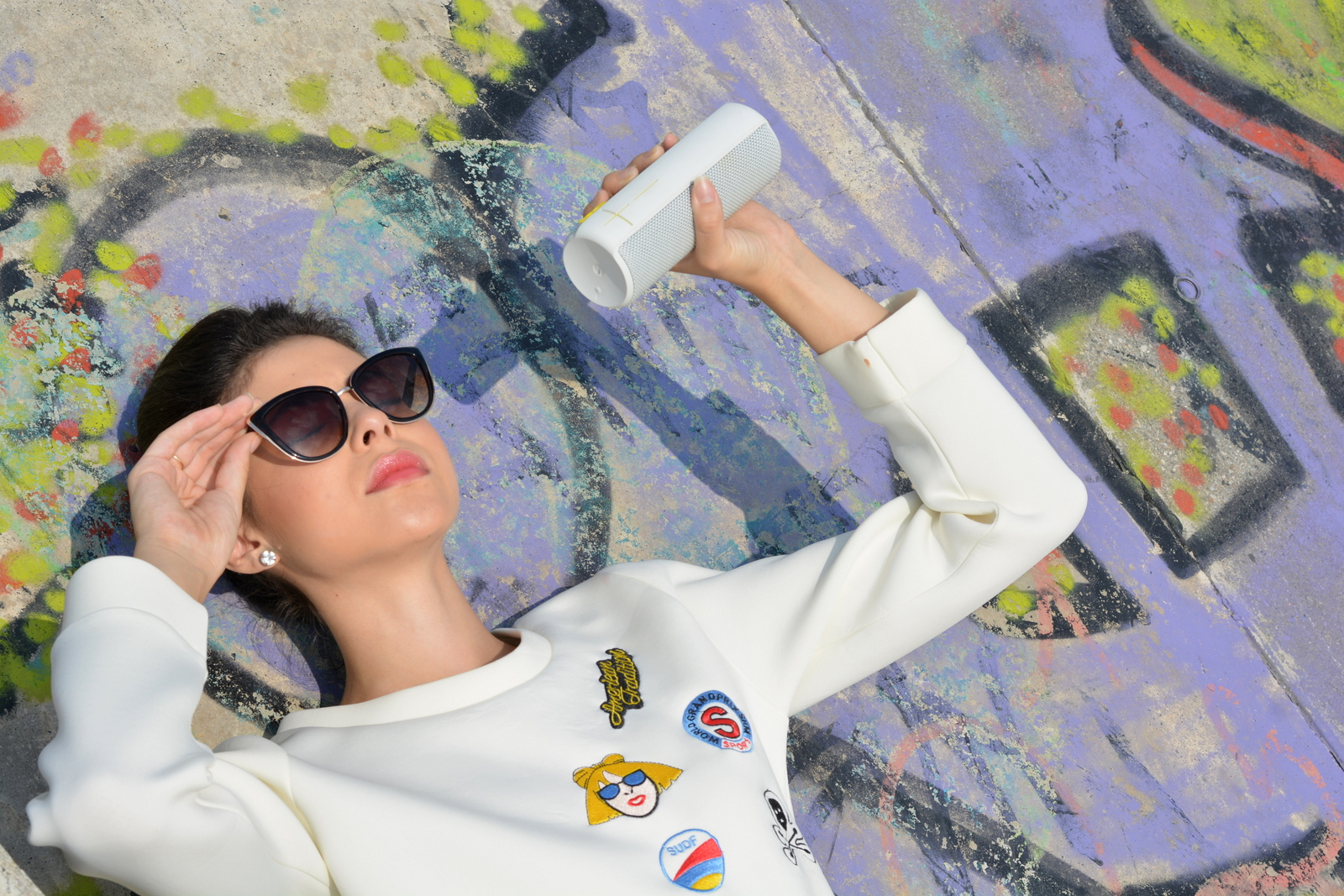 UE BOOM, ultimate ears, music, technology, Juliane Borges, outfit, ootd, bluetooth, culture and trend