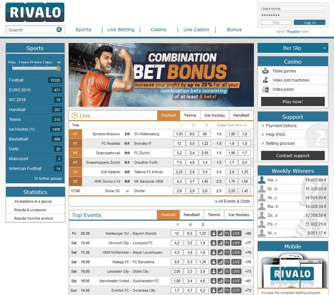 Rivalo Bets