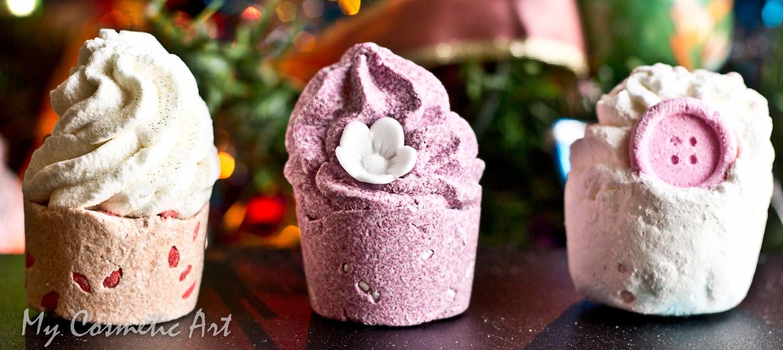 Las Cupcakes de Bomb Cosmetics como Acondicionador Corporal.