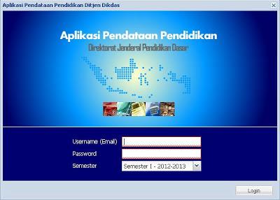 Download Aplikasi Pendataan Pendidikan Dapodik Sekolah