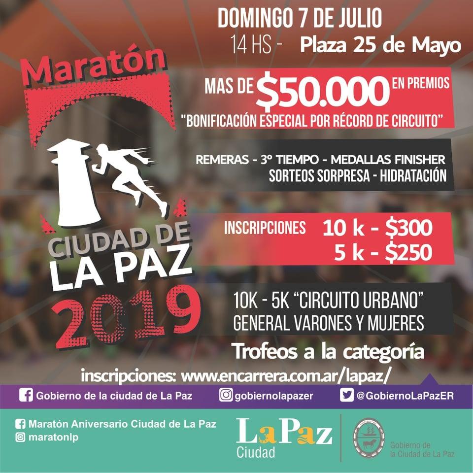 Maraton Ciudad de la Paz (Inscribite aqui)