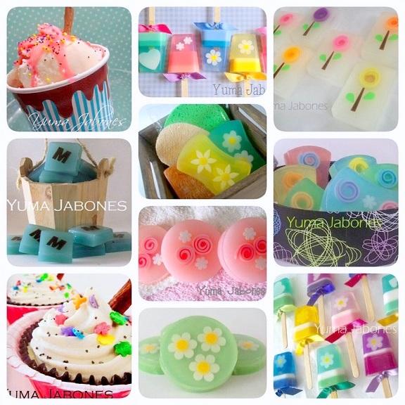 Jabones decorativos - Hacer jabones de glicerina decorativos ...