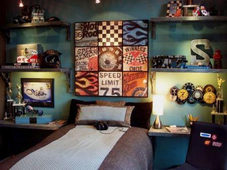 Race Car Themed Bedroom