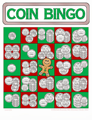 http://www.teacherspayteachers.com/Product/Money-Math-Christmas-Adding-Coins-Bingo-Cards-30-Unique-Cards-748978