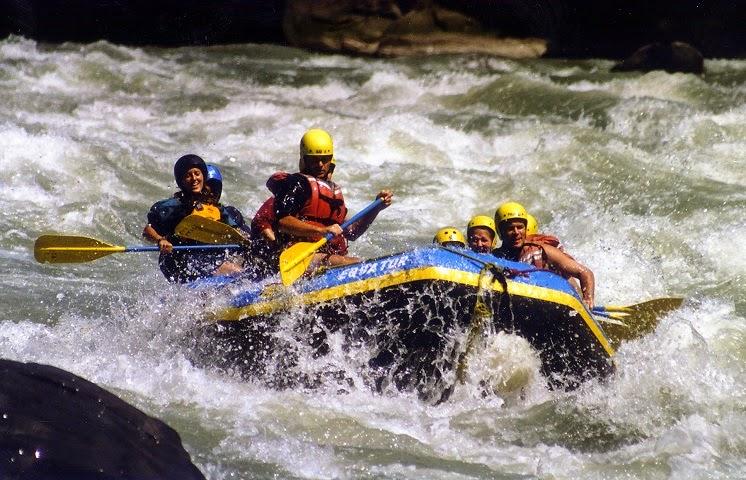 River Rafting, india