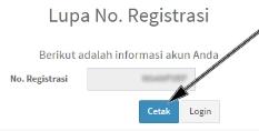 Cetak Ulang Formulir Tanda Registrasi PUPNS