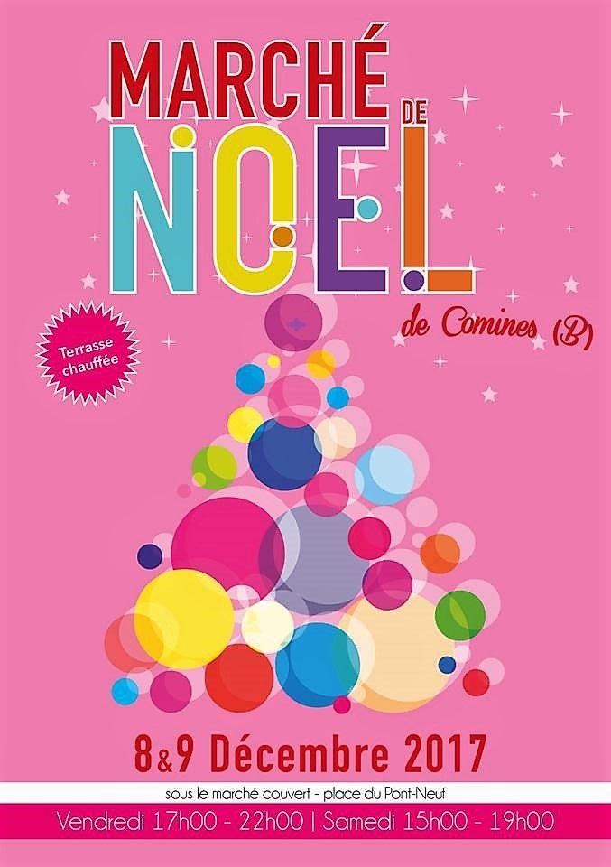8-9 décembre Comines marché de Noël