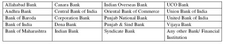 IBPS clerk 3 participating banks