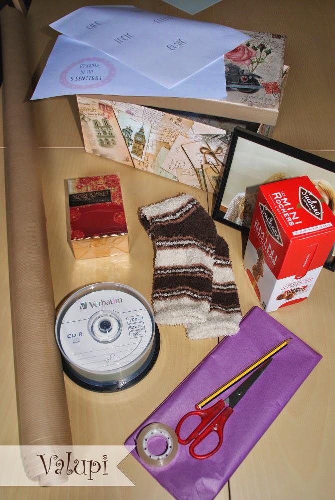 Valupi handmade with love diy caja de los cinco sentidos - Regalos para la vista ...