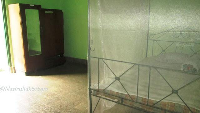 Ruangan tidur Jenderal Sudirman selama di Magelang