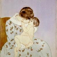 'El bes de la mare (Mary Stevenson Cassatt)'