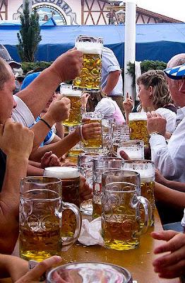 Maß-mug (1 Liter) of beer