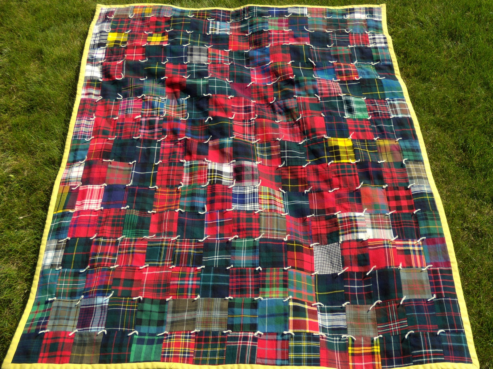The Scottish Emigration Blog: Crafting My Heritage : tartan quilt - Adamdwight.com