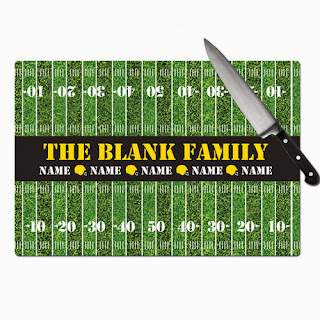 Psychobaby Yard Line Cutting Board