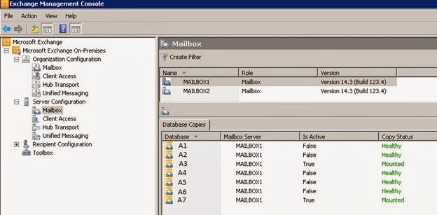 monitoring exchange server 2010 winadmin in