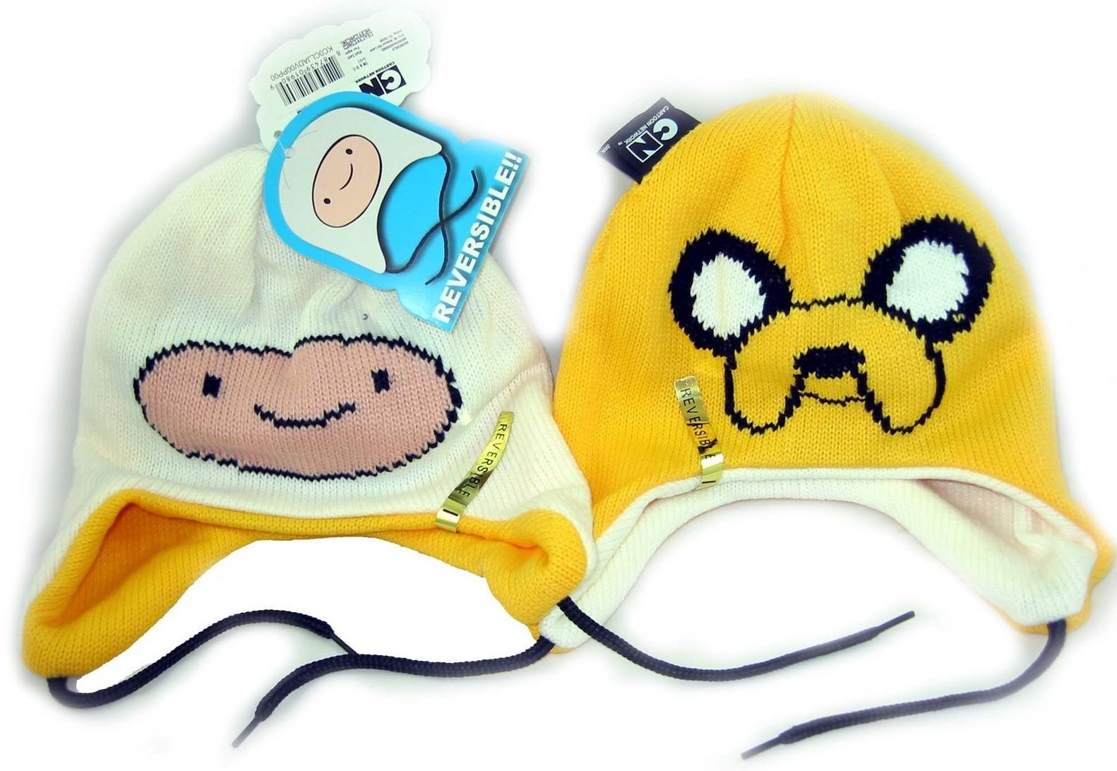 Jake Finn Reversible Cosplay Hat Cap Beanie Laplander Costume