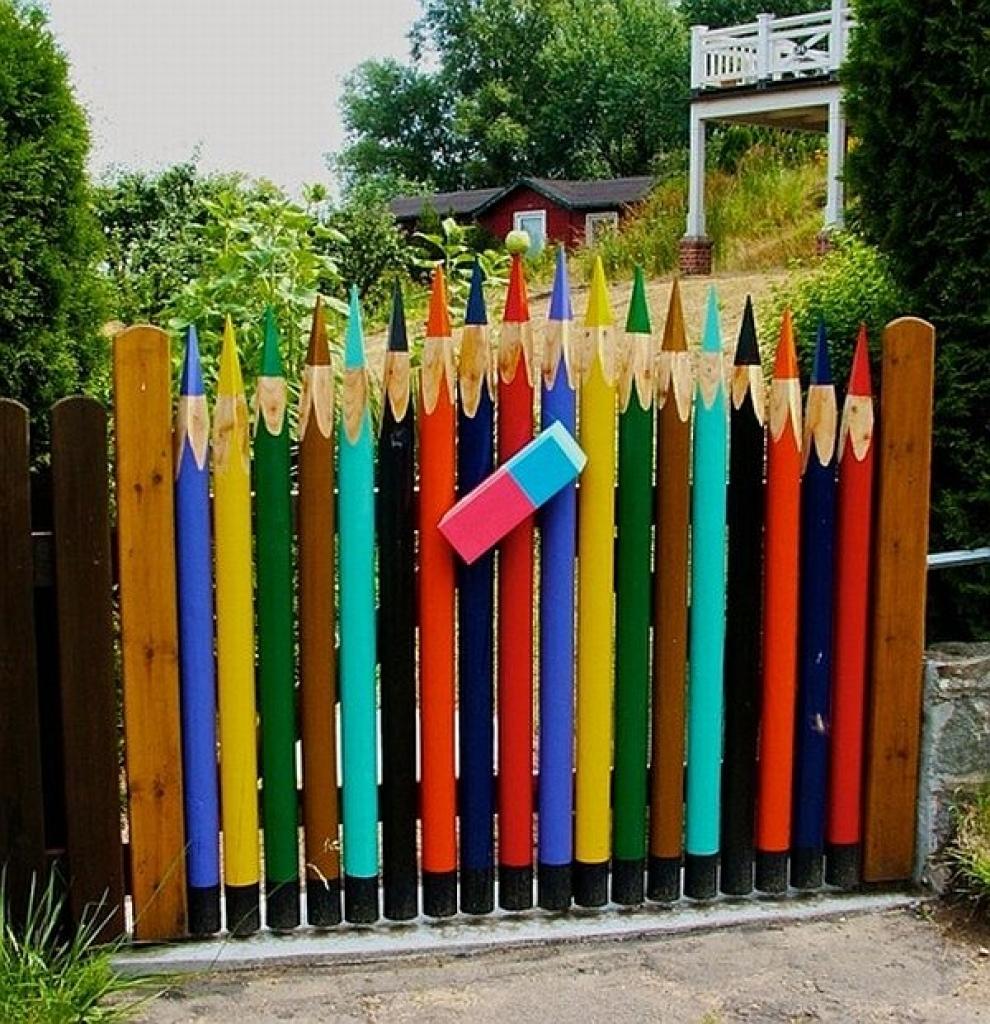 Puertas de jard n con decoraciones chulas de verdad for Puertas para jardin