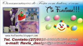 Cartão de Visita da Tia Flavinha