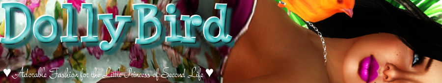 DollyBird | Second Life KIDS Fashion Blog