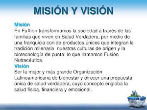 MISION Y VISION FUXION