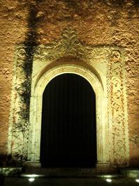 Puerta Lateral Iglesia Santa Ana