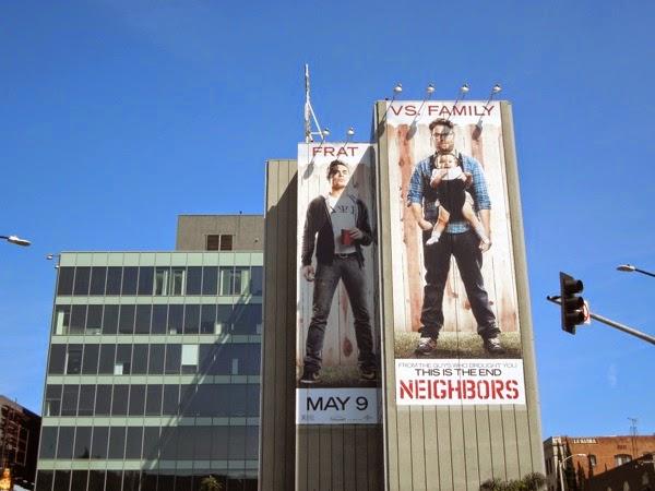 Giant Neighbors movie billboard