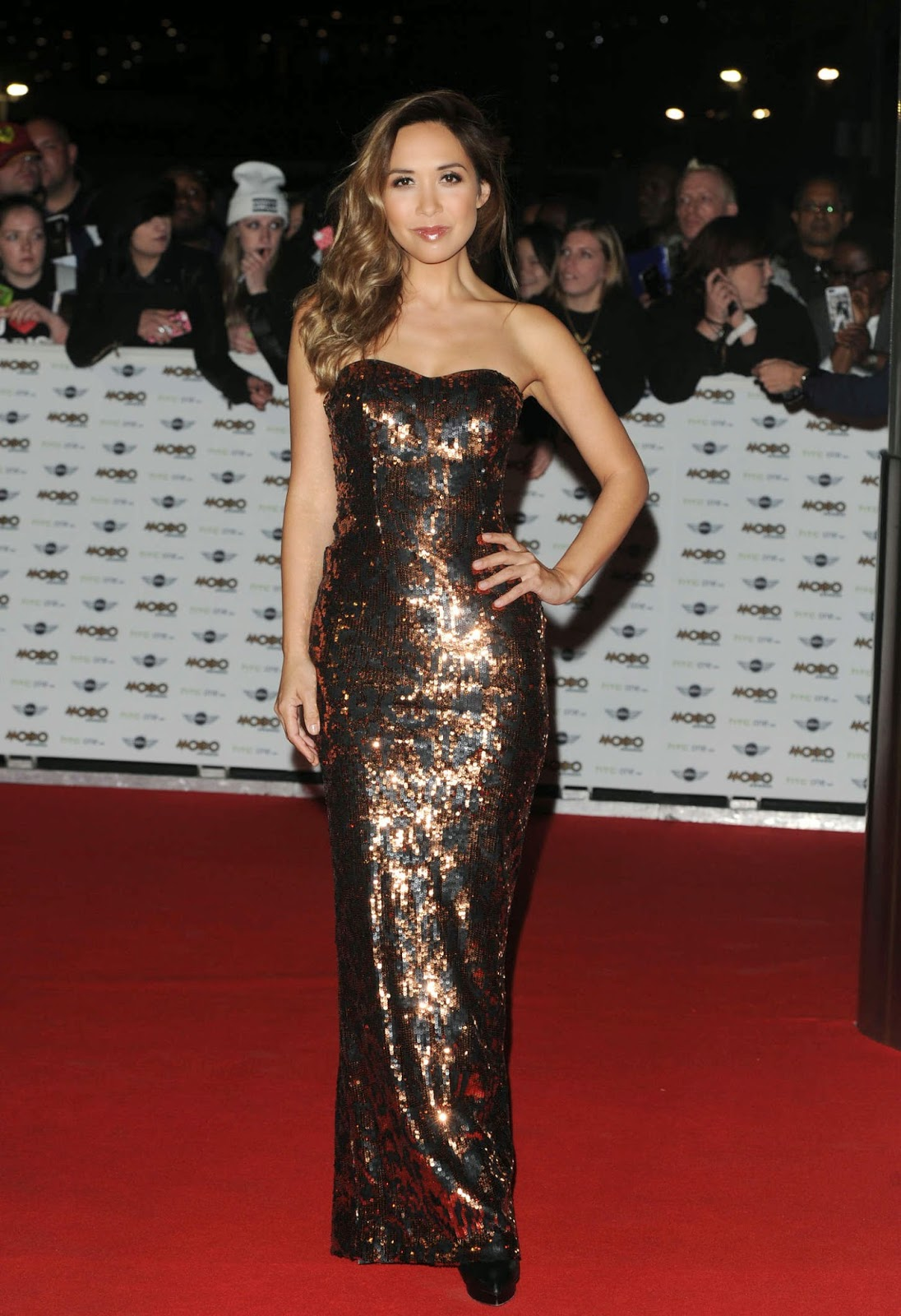 Myleene Klass – MOBO Awards in London