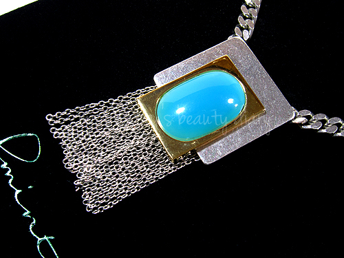 Jewelmint Lunar Blue Necklace