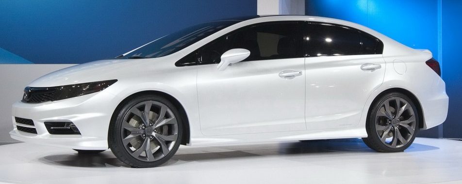 The Highly Sophisticated Refreshed Type Of The Ninth Generation 2014 Honda  Civic Is Finally Released. Honda Has Revealed The Initial Look Of The 2014  Honda ...