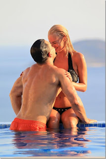 Rhian Sugden - Black Bikini - On Holiday in Turkey