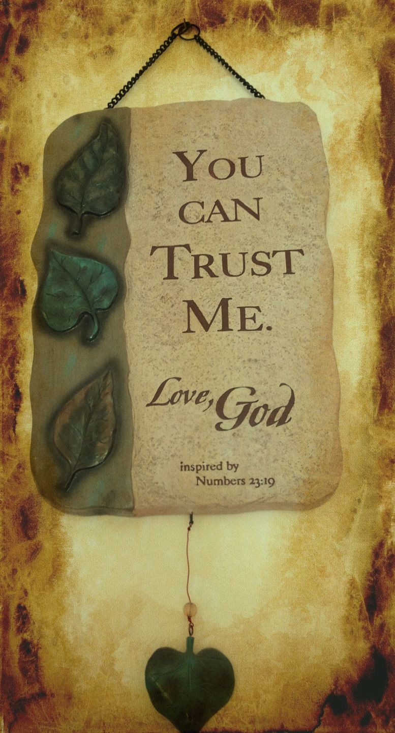 Just because he loves you doesnt mean you have to trust him