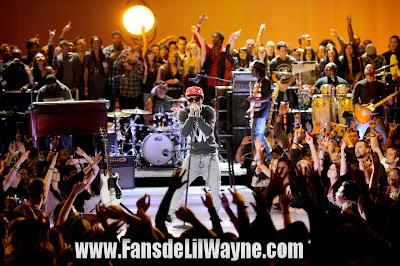 fotos de lil wayne del concierto acustico en la mtv