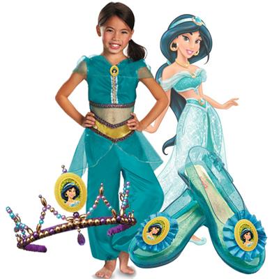 Item# D59183 u2013 Disney Princess Jasmine Sparkle Classic Child Costume Item# D18216 u2013 Disney Princess Jasmine Tiara Item# D59288 u2013 Disney Princess Jasmine ...  sc 1 st  Pure Costumes & Disney Princess Costume Ideas