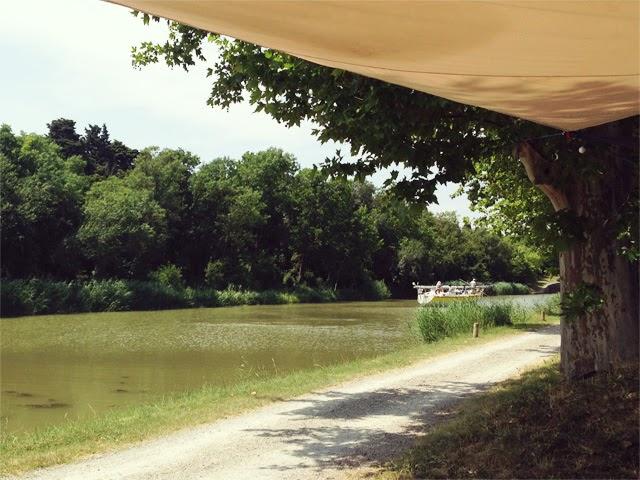 La Rive Belle- écluse herminis- canal du midi
