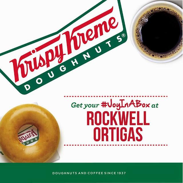 Krispy Kreme opens in Rockwell Ortigas