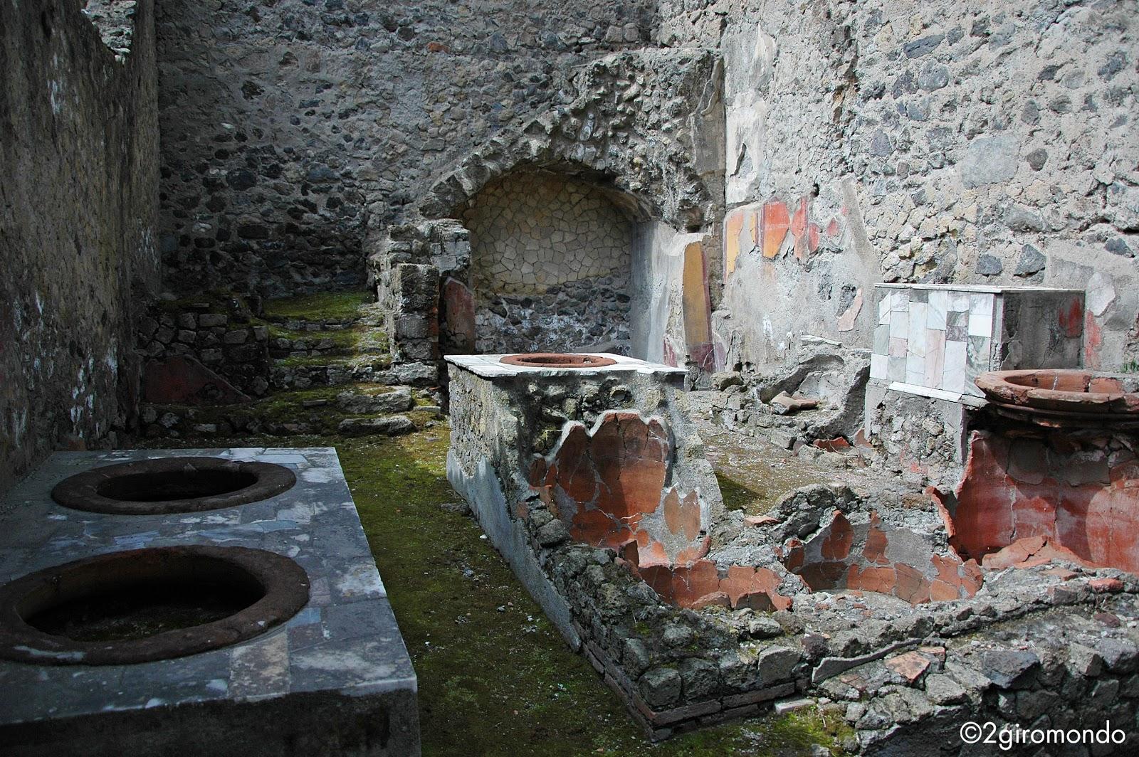 Scavi di Ercolano, Napoli